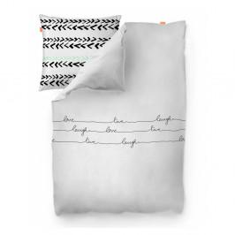 Bavlnená obliečka na paplón Blanc Live, 200×200cm