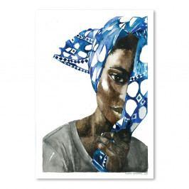 Plagát African Pride I, 30×42 cm