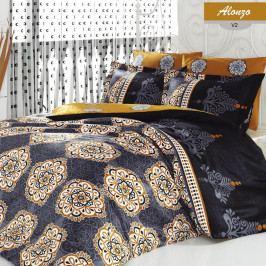Obliečky z ranforce bavlny s plachtou na dvojlôžko Allonzo, 200×220 cm