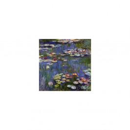 Obraz Claude Monet - Water Lilies 3, 70×70 cm