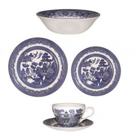 Sada 20 riadov Churchill China Blu Willow