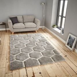 Sivý koberec Think Rugs Noble House, 150 × 230 cm