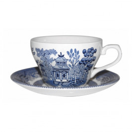 Hrnček Churchill China Blu Willow, 200 ml