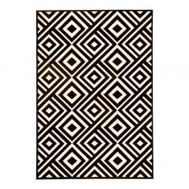 Čierno-biely koberec Hanse Home Art, 140×200cm