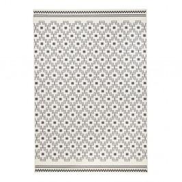 Čierno-biely koberec Hanse Home Cubic, 140×200cm