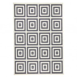 Sivo-biely koberec Zala Living Mono, 70×140cm