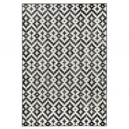 Čierno-biely koberec Zala Living Duo, 70×140cm