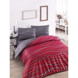 Set posteľného prádla s plachtou na dvojlôžko Claret, 200×220 cm