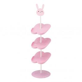 Detský ružový stojan na topánky YAMAZAKI Kid´s Shoe Rack