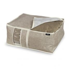 Úložný box na prikrývku Domopak Living Maison, dĺžka 55 cm
