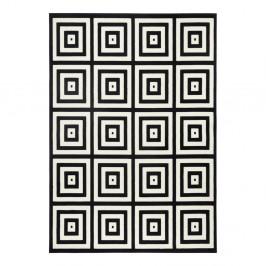 Čierno-sivý koberec Zala Living Duola, 70×140cm