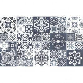 Sada 60 dekoratívnych samolepiek na stenu Ambiance Tanoura Simple, 10×10 cm
