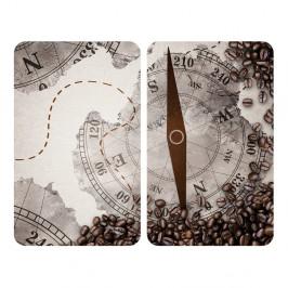 Sada 2 sklenených krytov na sporák Wenko Compass