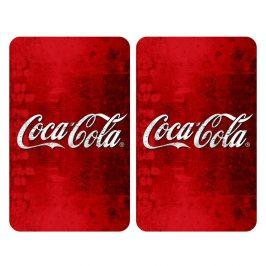 Sada 2 sklenených krytov na sporák Wenko Coca-Cola Classic