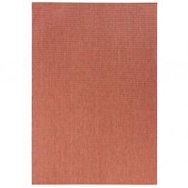 Koberec v terakotovej farbe vhodný aj do exteriéru Match, 120×170 cm