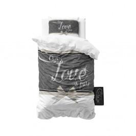 Bavlnené obliečky na jednolôžko Sleeptime Pure Love, 140×220 cm