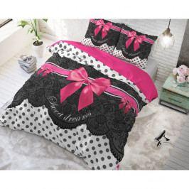 Bavlnené obliečky na jednolôžko Sleeptime Romance, 140×220 cm