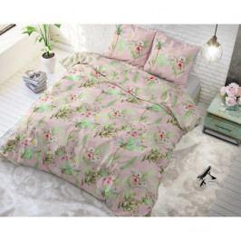Bavlnené obliečky na dvojlôžko Sleeptime Soft Roses, 200×220 cm