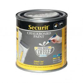 Sivá tabulová barva na vódní bázi Securit® Chalkboard, 250 ml