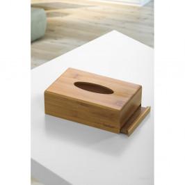 Bambusový box na vreckovky Bambum Metta, 19×12,3 cm