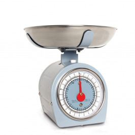 Modrá kuchynská váha Sabich Retro