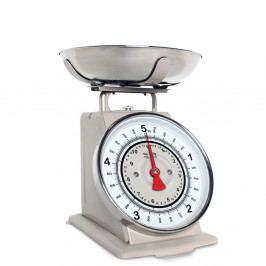 Béžová kuchynská váha Sabich Retro