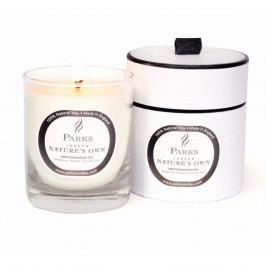 Sviečka s vôňou železníka, klinčeka a citrusu Parks Candles London Mediterannean Spa, 45hodín horenia
