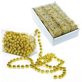 Dekorativní reťaz v zlatej farbe Unimasa Balls, dĺžka 5 m