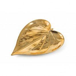 Dekoratívny podnos v zlatej farbe Villa d'Este Chic Piatto Largo