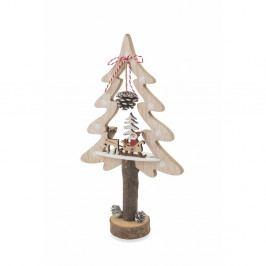 Vianočná drevená dekoratívna soška Villa d'Este Forest Albero Piccolo Decorativo