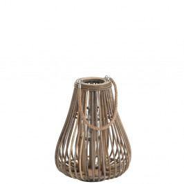 Ratanový lampáš J-Line Pear
