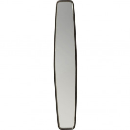 Zrkadlo s čiernym rámom Kare Design Clip