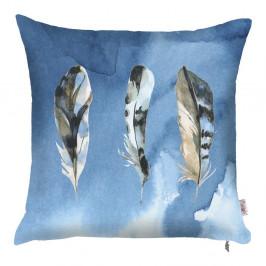 Modrá obliečka na vankúš Apolena Feana, 43×43 cm