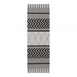 Sivo-čierny behúň Zala Living Cook & Clean Barbara, 60×180cm