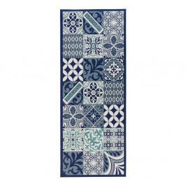 Modrý kuchynský behúň Zala Living Accent, 80×200 cm