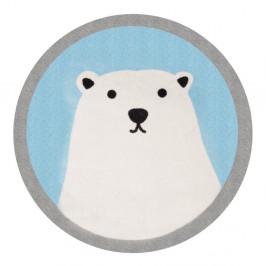 Detský koberec Zala Living Lední Polar Bear, ⌀100cm
