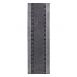 Koberec Basic, 80x500 cm, sivý
