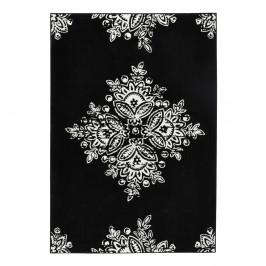 Čierno-biely koberec Hanse Home Gloria Blossom, 120 x 170 cm