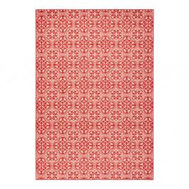 Červený koberec Hanse Home Gloria Pattern, 200 x 290 cm