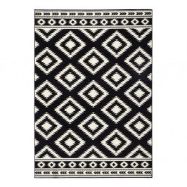 Čierny koberec Hanse Home Gloria Ethno, 160 x 230 cm
