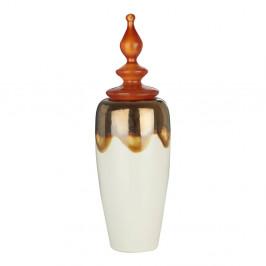 Dekoratívna dóza Premier Housewares Amber, výška 47 cm