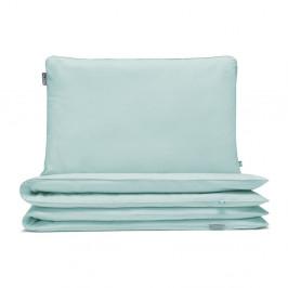 Mätovozelené detské bavlnené posteľné obliečky Mumla, 90×120 cm