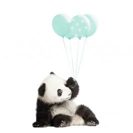 Nástenná samolepka Dekornik Minty Panda, 70 x 115 cm
