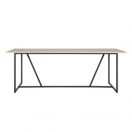 Jedálenský stôl s doskou z jaseňového dreva WOOOD Silas, 220 x 90cm