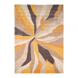Žltý koberec Flair Rugs Splinter, 160 x 220 cm