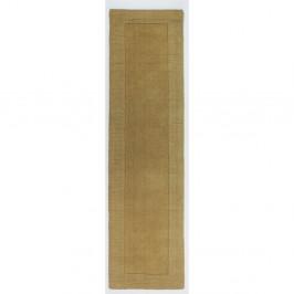 Vlnený behúň Flair Rugs Tuscany Sienna Ochre, 60×230 cm