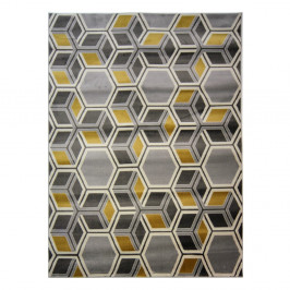 Koberec Flair Rugs Cocktail Mimosa Grey Ochre, 160 × 230 cm