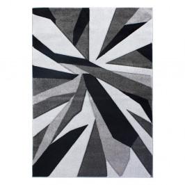 Čierno-sivý koberec Flair Rugs Shatter Black Grey, 160×230cm