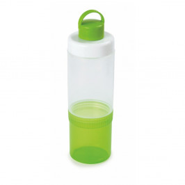Set zelenej fľaše a pohárika Snips Eat & Drink, 0,4 l