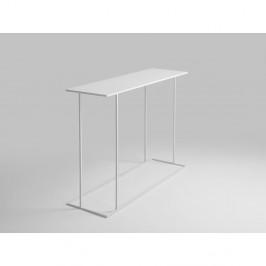 Biely konzolový stolík Custom Form Walt